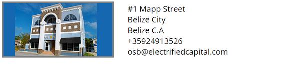 electrified capital office in Belize